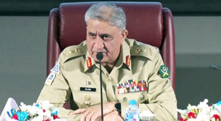 Gen Bajwa discusses security matters with military officers