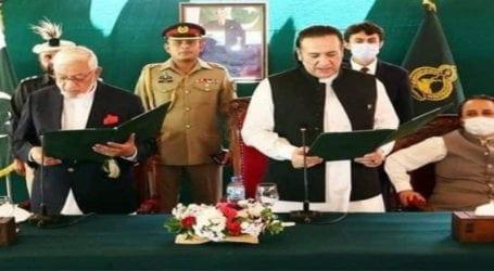 Mir Afzal sworn in as GB caretaker CM