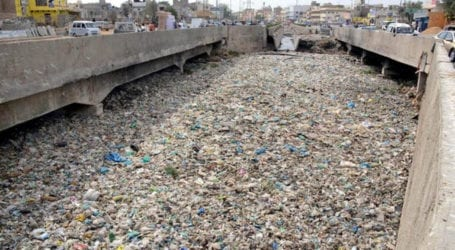 Storm water drains remain choked-Karachi risks flooding
