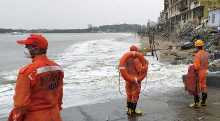 Cyclone 'Nisarga' stikes Indian city of Mumbai