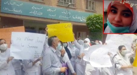 Nurses protest against hostel administration over colleague's death