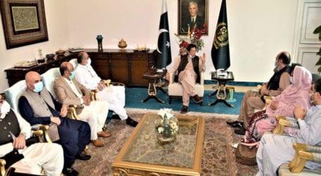 CM Balochistan calls on PM Imran Khan in Islamabad