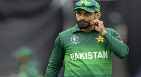Hafeez tests negative for coronavirus, after being declared positive for virus