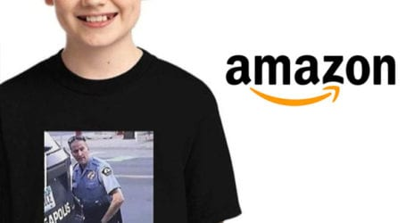 Amazon removes T-shirt depicting George Floyd's death