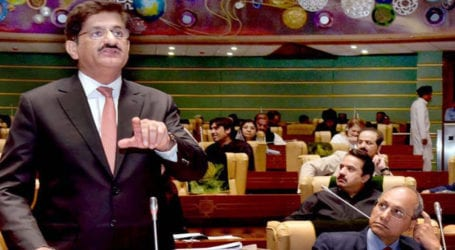 Murad Ali Shah presents budget 2020-21 in Sindh Assembly