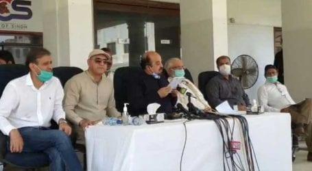 PTI leaders blame Sindh govt for water, wheat crisis in Karachi