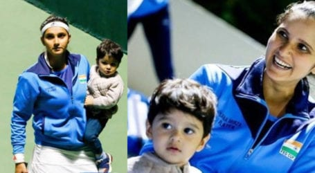 Sania Mirza shares funny video with son