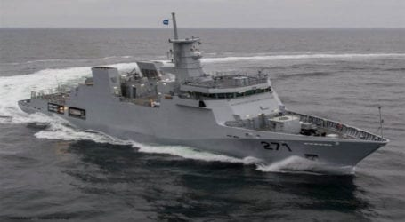 New ship 'PNS Yarmook' inducted in Pakistan Navy's fleet