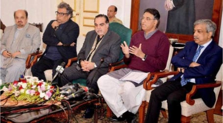 PM will visit Sindh to announce development package: Asad Umar