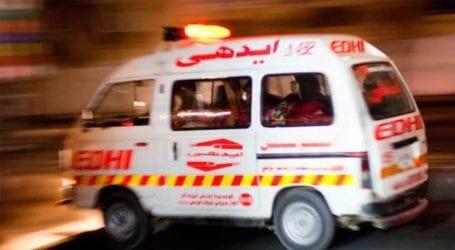Death toll in Karachi passenger van fire climbs to 15