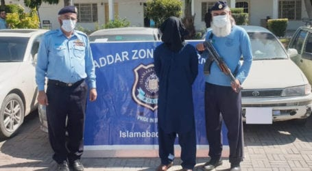 Islamabad police arrest accused involved in car theft
