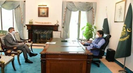PIA CEO Arshad Malik calls on PM Imran