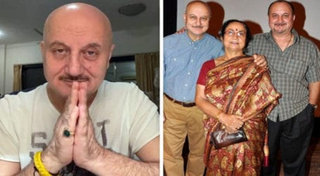 Bollywood actor Anupam Kher's family tests COVID-19 positive