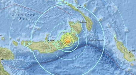High-intensity earthquake strikes Papua New Guinea