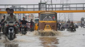 Karachi receives heavy rainfall, causes power outages