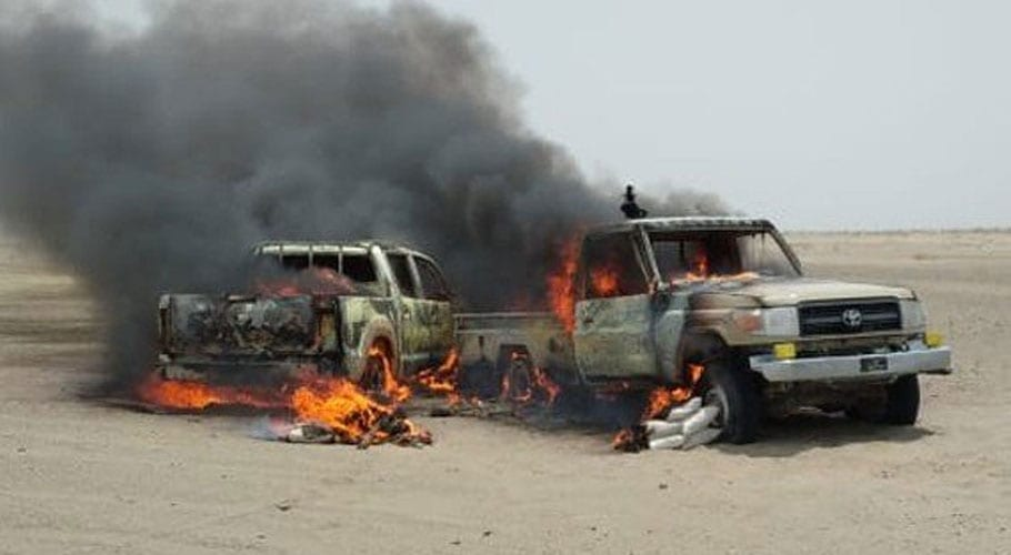 Two ANF soldiers martyred in terrorist attack in Balochistan
