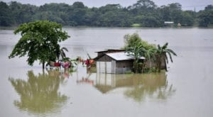 Monsoon floods in India, Nepal displace nearly 4m people