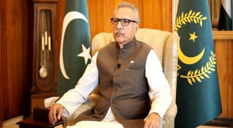 Youm-e-Istehsal: President Alvi to address special senate session