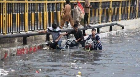 In pictures: Heavy rains hit Karachi