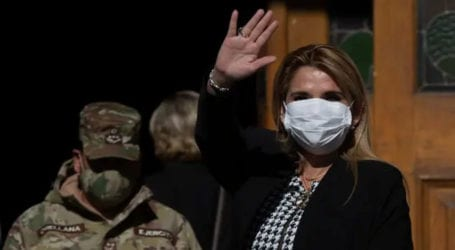 Bolivia's president tests positive for coronavirus