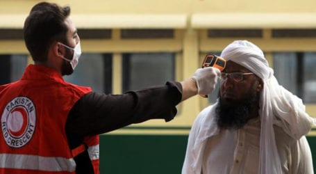 Pakistan reports 617 new coronavirus cases