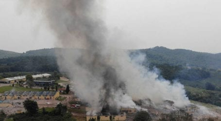 Two burned to death as huge fire erupts at Keamari oil terminal