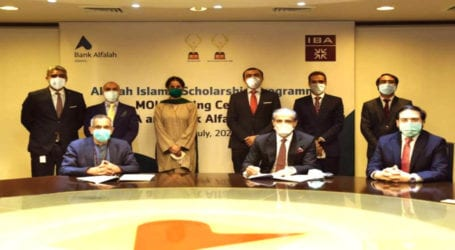 IBA, Bank Alfalah Islamic sign deal to provide scholarship for students