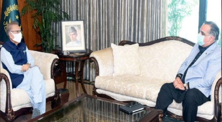 Governor Sindh meets President Arif Alvi in Islamabad