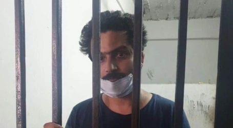 Rawalpindi man who thrashed mother arrested