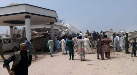3 killed, dozens injured as marriage hall collapses in Mirpur
