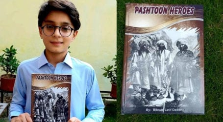 12-year-old writes book on Pashtun heroes