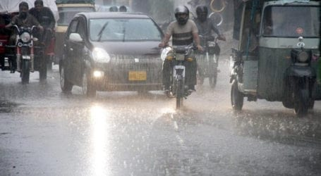 Weather turns pleasant after rain in parts of Karachi