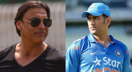 Shoaib Akhtar wishes MS Dhoni on his 39th birthday