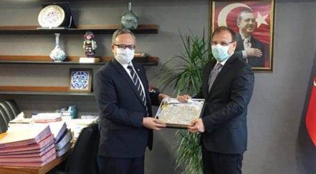Pakistan envoy briefs Turkish parliamentarians on situation in IoK