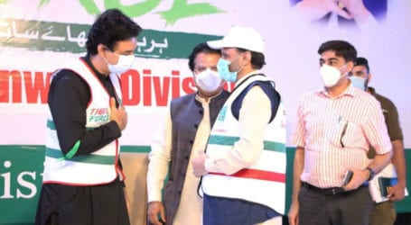 Usman Dar launches Corona Relief Tiger Force mobile app