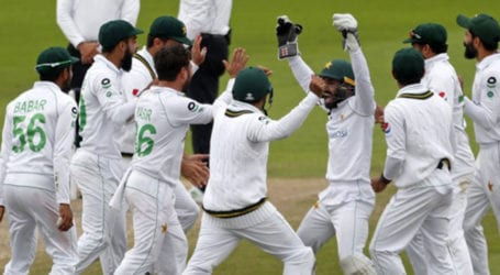 Pakistan squad reaches Southampton for remaining Test matches