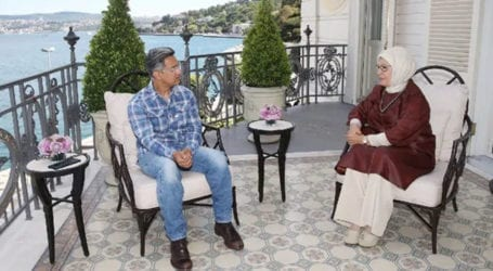 Bollywood actor Aamir Khan meets Turkish First Lady