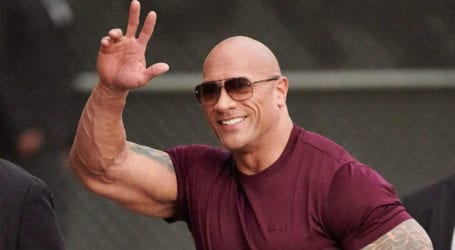 Dwayne Johnson tops list of highest-earning male actors