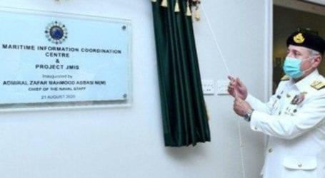 Naval chief inaugurates new inter-agency base in Karachi