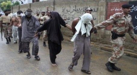 Rangers arrest 10 criminals in Karachi