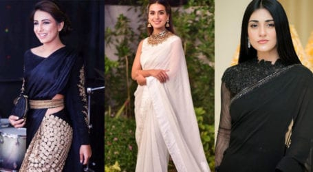 7 Pakistani actresses that dazzled in a saree