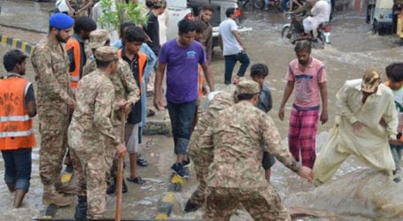 Pakistan Army rescue operation continues in Karachi