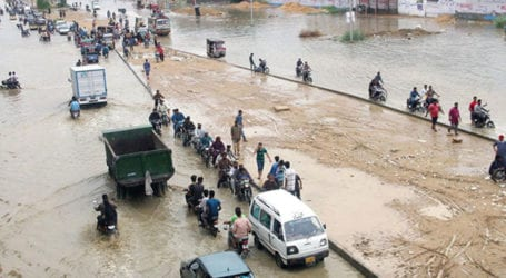 Work on cleaning drains begins in Karachi