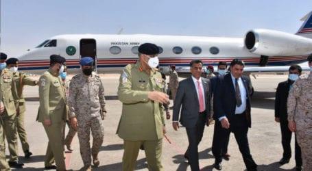COAS Gen Bajwa arrives in Saudi Arabia to revive ties