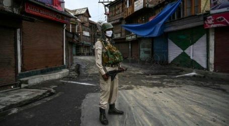 India imposes curfew in IoK ahead of clampdown anniversary