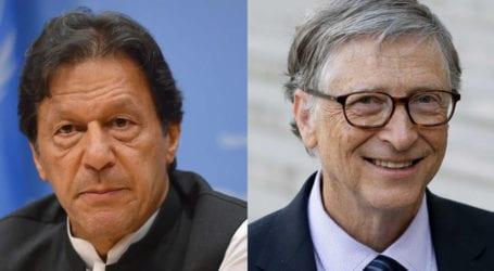 PM Imran, Bill Gates discuss COVID-19 response, polio campaign