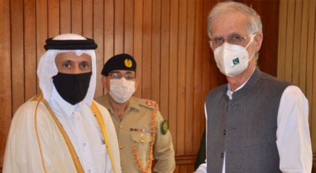 Khattak calls for strengthening defence ties with Qatar, Egypt