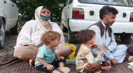 Family demands action against land grabbers in AJK district