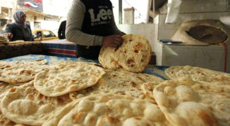 10 Nanbais held in Peshawar for selling low weight roti