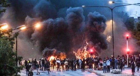 Angry mob sets Quran on fire in Sweden